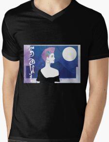 Moonlight SOUL Mens V-Neck T-Shirt