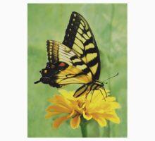 Eastern Tiger Swallowtail Butterfly One Piece - Long Sleeve