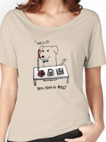 this is dog 2 Women's Relaxed Fit T-Shirt