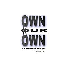 Positive Pro-BLACK: OWNING IT Photographic Print