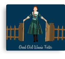 Good Girl Winnie Foster Canvas Print
