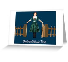 Good Girl Winnie Foster Greeting Card