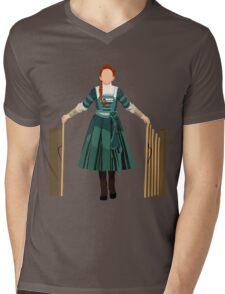 Winnie V2 Mens V-Neck T-Shirt