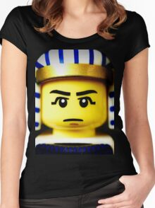 EGYPTIAN WARRIOR Women's Fitted Scoop T-Shirt