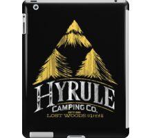 Hyrule Camping iPad Case/Skin
