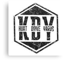 Kuat Drive Yards Canvas Print