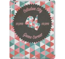 Celadon Game Corner iPad Case/Skin