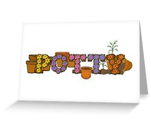 Potty - Special-Tees Greeting Card