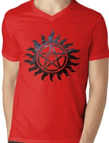 Supernatural Galaxy  Mens V-Neck T-Shirt