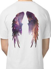 Angel Pink Galaxy Wings Classic T-Shirt