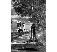 The Switch And The Caboose Photographic Print