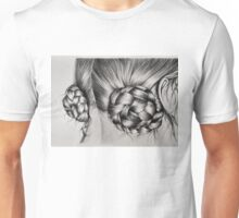 Braids in buns Unisex T-Shirt