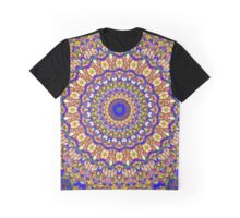Fifth Mandala Of Life For A Rosy Spring Graphic T-Shirt