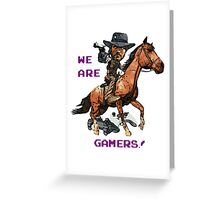 Inspired by John Marston of Red Dead Redemption Greeting Card