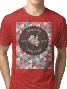Celadon Game Corner Tri-blend T-Shirt