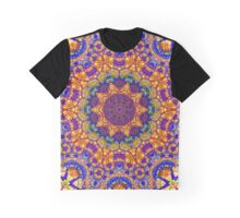 Eleventh Mandala Of Life For A Rosy Spring Graphic T-Shirt