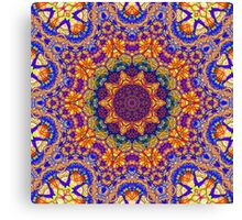 Eleventh Mandala Of Life For A Rosy Spring Canvas Print