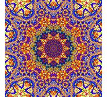 Eleventh Mandala Of Life For A Rosy Spring Photographic Print