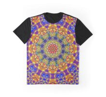 Thirteenth Mandala Of Life For A Rosy Spring Graphic T-Shirt