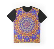 Fourteenth Mandala Of Life For A Rosy Spring Graphic T-Shirt