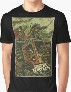TMNT out of shadow Graphic T-Shirt