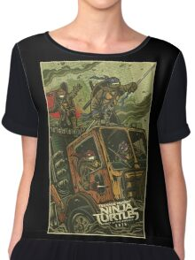 TMNT out of shadow Chiffon Top