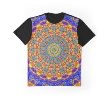 Fifteenth Mandala Of Life For A Rosy Spring Graphic T-Shirt