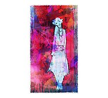 Mad flapper Photographic Print