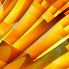 Branches in yellow by John Edwards