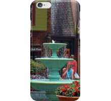 """Gatlinburg, Tennessee, Series, #6... Pin Oaks, A Quaint Location""... prints and products  iPhone Case/Skin"