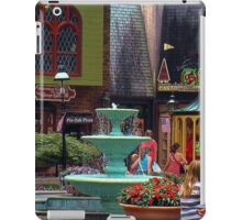 """""""Gatlinburg, Tennessee, Series, #6... Pin Oaks, A Quaint Location""""... prints and products  iPad Case/Skin"""