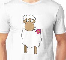 Schaf Illustration Unisex T-Shirt
