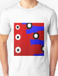 Abstract Dot Design with Bright Colors T-Shirt