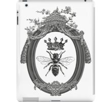 Queen Bee | Black, White & Grey  iPad Case/Skin