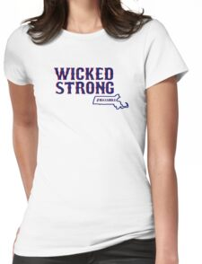 Wicked Strong Womens Fitted T-Shirt