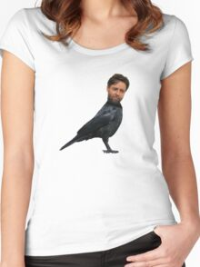 Russell Crowe? Russell Crow. Women's Fitted Scoop T-Shirt