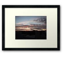 Dusking Framed Print