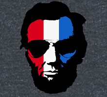 Lincoln with Aviator Sunglasses - Pop-Art Red White and Blue Classic T-Shirt