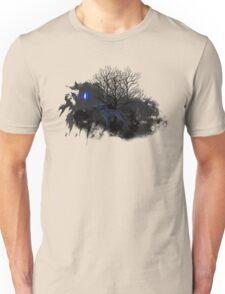 Dark Wolf and Blue Light Unisex T-Shirt