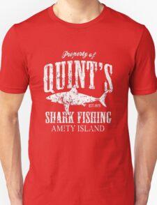 Retro Quint's Shark Fishing Unisex T-Shirt