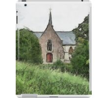 Little Church at Vlassenbroek iPad Case/Skin