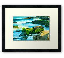 Windansea Beach La Jolla Framed Print