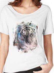 Painted Tiger  Women's Relaxed Fit T-Shirt
