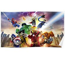 Lego Super Heroes Poster