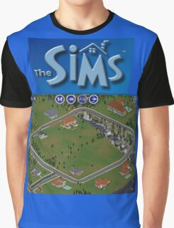 The Sims 1 - Neighborhood Graphic T-Shirt