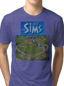 The Sims 1 - Neighborhood Tri-blend T-Shirt