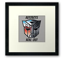 Autobots Framed Print