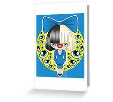 Chibi Sia SNL Greeting Card