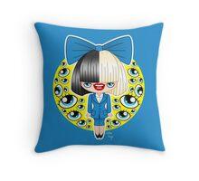 Chibi Sia SNL Throw Pillow