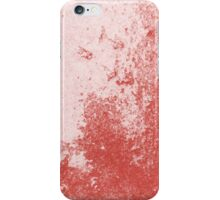 Earth Sweat Design (Aurora Red Color) iPhone Case/Skin